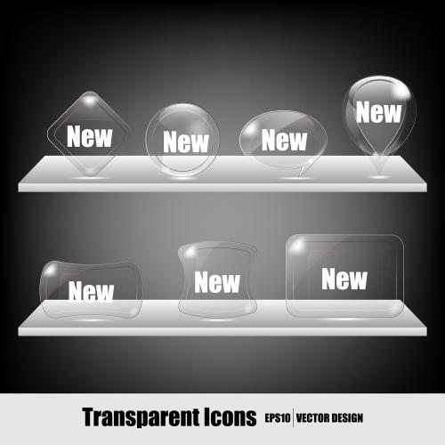透明矢量图标图集>>放大镜矢量图标素材>>放大镜矢量