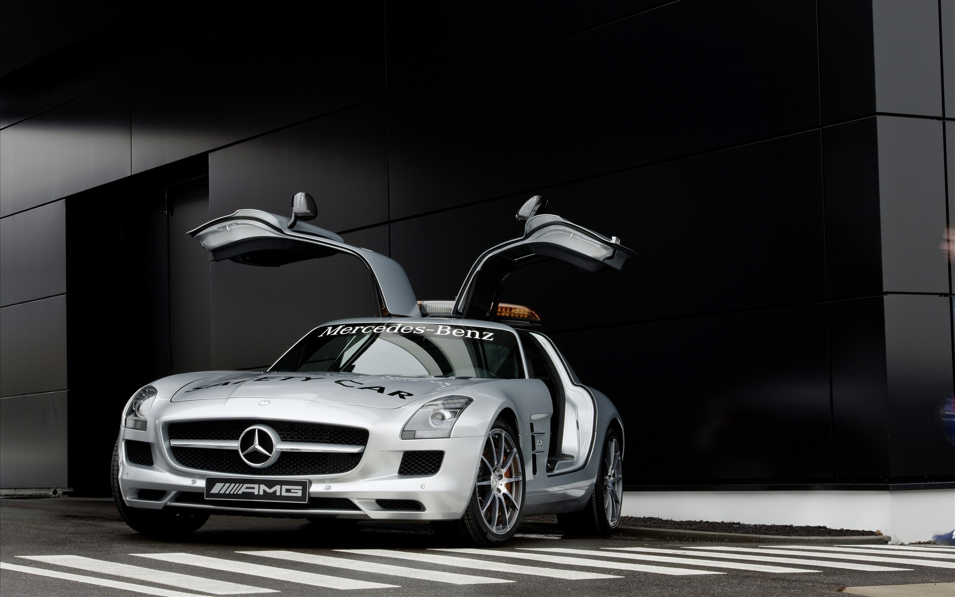 mercedes benz sls amg f1 safety car 2010 车 高清图片